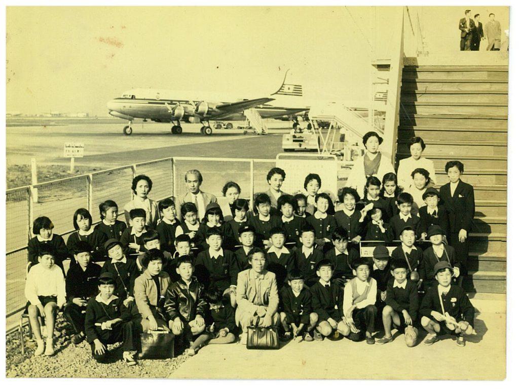 1955 小学校5年 羽田社会見学