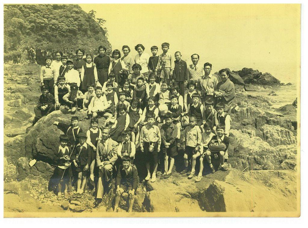 1954.5 小学校4年 真鶴