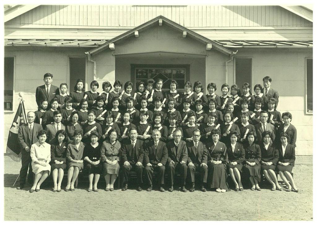 1963.3 高校3年卒業